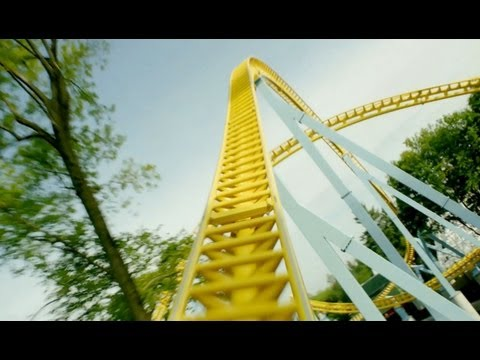 Skyrush Front Seat POV *REAL AUDIO* Hersheypark 2012 Roller Coaster 1080p HD