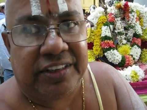 Sridhar Bhattar on  Navaneetha Krishna Pratishta at SVT Helensburgh