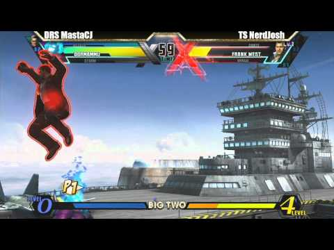 DRS MastaCJ vs TS NerdJosh Match - Big Two UMVC3 tournament