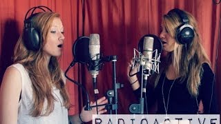 Radioactive - Imagine Dragons / Paradise - Coldplay Mash-Up cover - Carlijn & Merle ft. Luuk