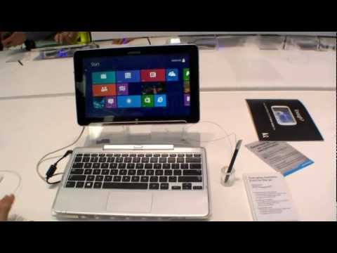 Samsung ATIV Smart PC Pro Hands On ENGLISH