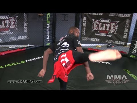 "UFC 135: Champ Jon ""Bones"" Jones Pre-Fight Interview (With Workout)"