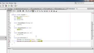 Java Tutorial 04 - Objects and Classes - with 1 activity