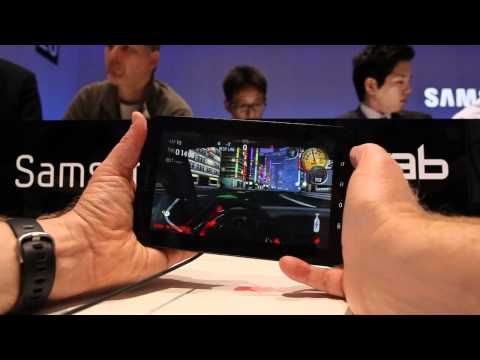 CNET-s hands-on with the Samsung Galaxy Tab