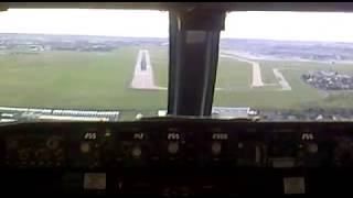 ATERRIZAJE EN CABINA 737-800 ORLY PARIS LANDING