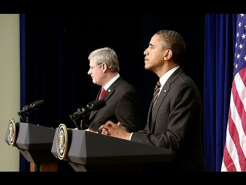 President Obama-s Bilateral Meeting with Prime Minister Harper of Canada