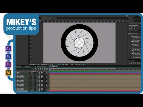Animated aperture in After Effects