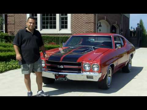 1970 Chevy Chevelle SS Classic Muscle Car for Sale in MI Vanguard Motor Sales