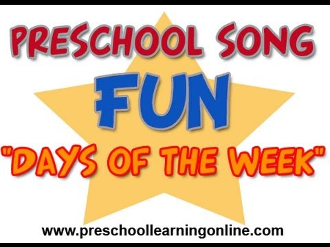 Preschool Kids Song - Days of The Week