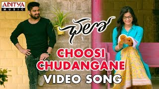 Choosi Chudangane Video Song || Chalo