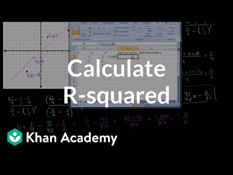 Calculating R-Squared