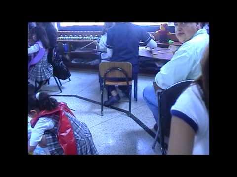 Manualidades en preescolar Colegio San Luis Gonzaga