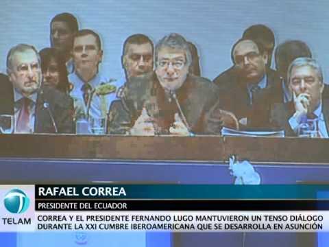Correa: Que el Banco Mundial pida disculpas por todo el daño causado