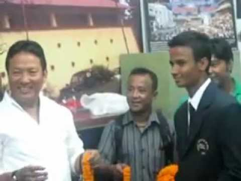 Farewell of Nepalese U-19 cricket team