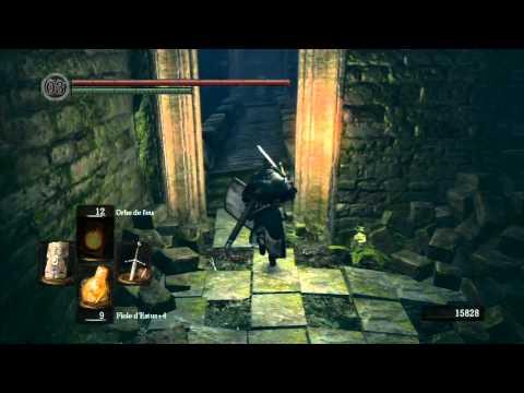 Guide FR HD Dark Souls partie 17-2 [boss Sif le loup gris + anneau du Frelon]