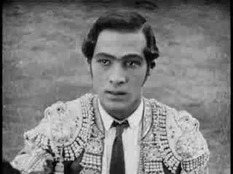 Rodolfo Valentino - movie Blood and Sand (1922)