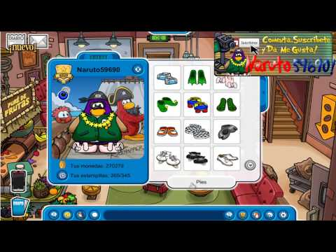 Club Penguin:Pin De Flamenco Neon 13 Junio 2013 HD