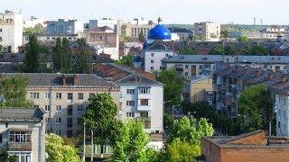 Житомир с высоты: Центр, Щорса, Котовского, Л.Украинки