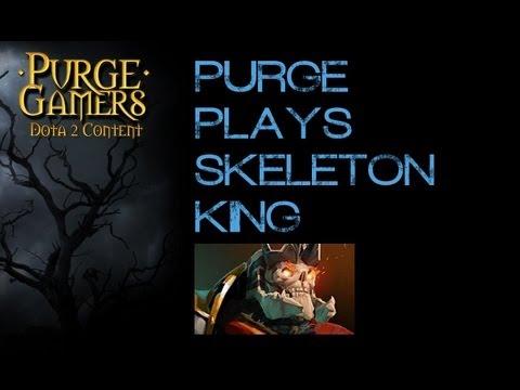 Dota 2 Purge plays Skeleton King