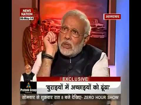 News Nation Exclusive: 60 minutes with Narendra Modi- part 1