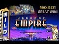 MAX BET! **NEW** (Great Win) - Jackpot Empire - Slot Machine Bonus