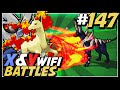 Pokemon X and Y Wifi Battle #147 Live Vs NippS - Artex, Skip The Swamp!