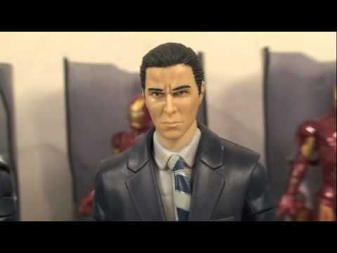 How To Make a Custom Bruce Wayne/Tony Stark Movie Masters 6 Figure