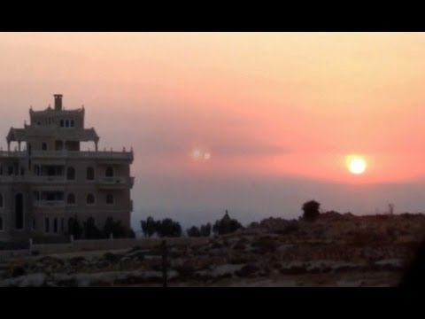 Best UFO Sighting UFOs Over The Middle East! More Incredible Footage Watch Now! 2012