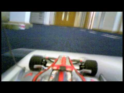 Lewis Hamilton and the RC Office Grand Prix