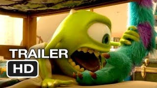 Monsters University Final Trailer (2013) Pixar Movie HD