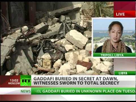 Grave Concerns: Gaddafi buried, Libya braces for worst