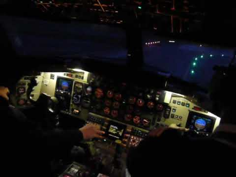 takeoff luxembourg cockpit view Bae ATP