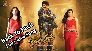 Simha Movie || Back To Back Video Songs