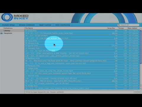 Mixed In Key 4 Tutorial w Danny Rampling Part 1 (of 2)