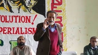 Prabat Patnaik Speaks on political situation in India in SFI JNU Unit Conference