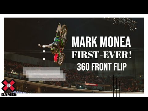 Mark Monea Lands First Ever 360 Front Flip!