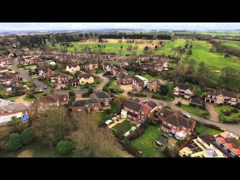 Flying over Collingtree Park & Golf Course with the DJI Inspire 1