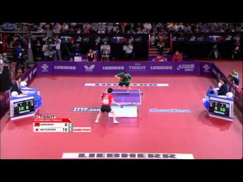 WTTC 2013 Highlights: Kenta Matsudaira vs Vladimir Samsonov (1/8 Final)