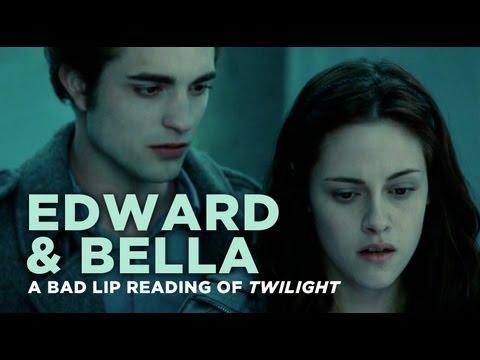 """""""Edward and Bella"""" — A Bad Lip Reading of Twilight - UC67f2Qf7FYhtoUIF4Sf29cA"""