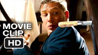 This Means War Movie CLIP - Restaurant Fight - Tom Hardy, Chris Pine Movie (2012) HD