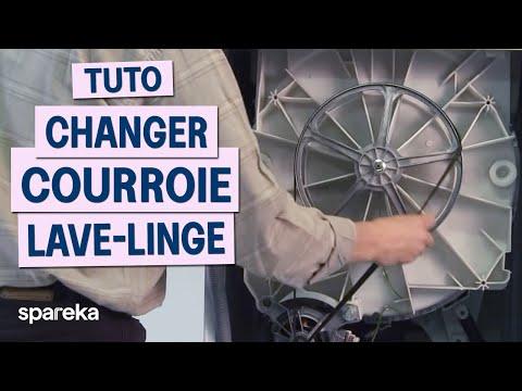 Changer la courroie de votre machine à laver poster