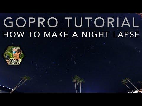 GoPro HERO 6/5/4 Tutorial: Night Lapse