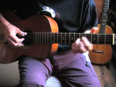 Blues in the Key of E Lesson - Acoustic Fingerpicking  - 44 Blues Part 2/2