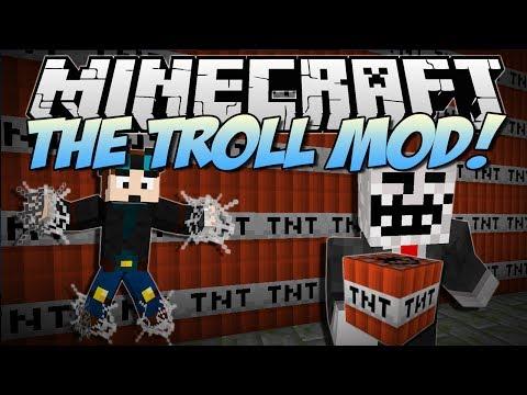 Minecraft | THE TROLL MOD! (Troll TNT, Never Ending Webs & More!) | Mod Showcase - UCS5Oz6CHmeoF7vSad0qqXfw
