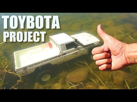 RC ADVENTURES - TOYBOTA PROJECT - PT 1 - BBC TOP GEAR TRiBUTE BUiLD - TOYOTA TRUCK-BOAT! - UCxcjVHL-2o3D6Q9esu05a1Q
