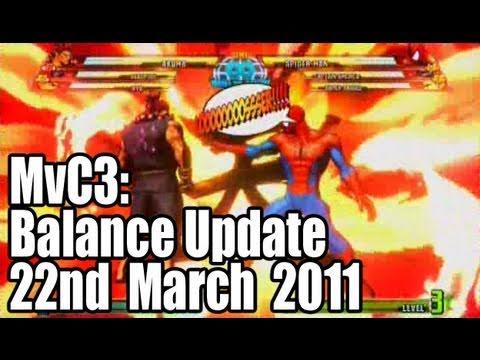 MvC3: Balance Update No. 1 (March 22nd 2011)