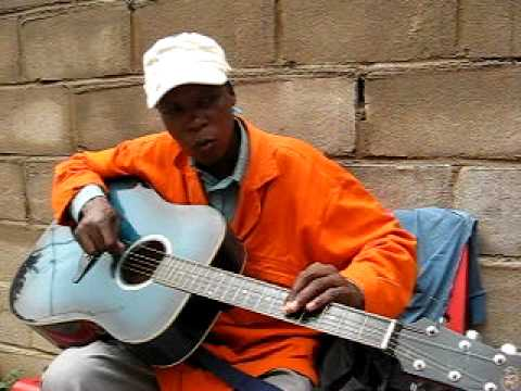 "Botswana Music Guitar - Ronnie - ""Baloi""."