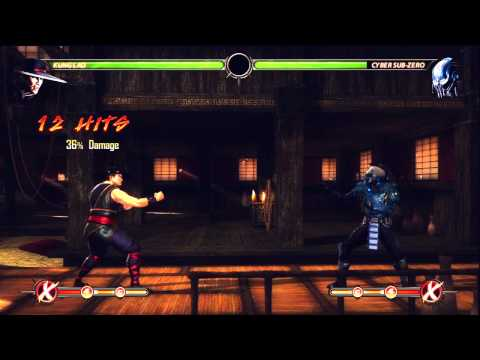 MK9 | Kung Lao Updated BnB Combos [ Midscreen No - Meter ] By Eh SnOwY