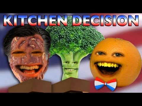 Annoying Orange - Kitchen Decision 2012