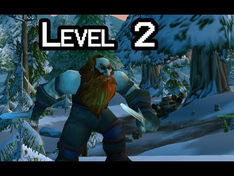 Let-s Play WoW with Nilesy - Level 2 (World of Warcraft gameplay)